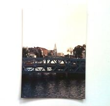 Vintage 1990s PHOTO Cork Ireland River Lee & The Capuchin Church