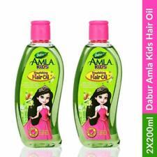 2 pcs Dabur Amla Kids Nourishing Hair Oil 200ml For Longer, Stronger+free Gift