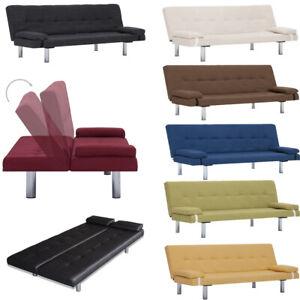 Schlafsofa Sofa 2 Sitzer 2er Klein Zweisitzer 2-Sitzer Couch mit Schlaffunktion