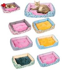 Pet Cat Dog Bed Puppy Cushion House Soft Warm Kennel Mat Pad Blanket Washable