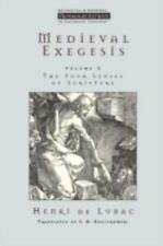 Medieval Exegesis 2 by Henri De Lubac (2000, UK-Paperback)