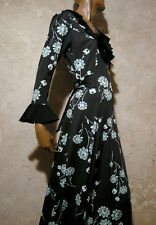 CHIC VINTAGE ROBE LONGUE 1970 VTG MAXI DRESS 70s KLEID 70er ABITO ANNI 70 (38)