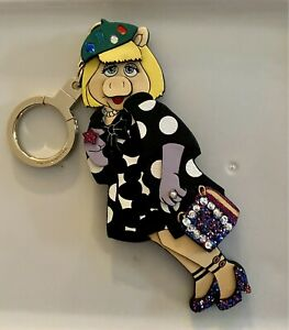 Kate Spade Miss Piggy Key Ring/Fob New With Tags