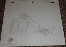 Batman Animated Series Production Drawing The Gray Ghost!