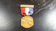 1932 NJ NY Volunteer FIremen's Association 19th Annual Convention Medal Ribbon
