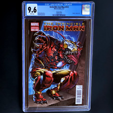 INVINCIBLE IRON MAN #512 💥 CGC 9.6 💥 SCARCE LARRY STROMAN VENOM VARIANT 2012
