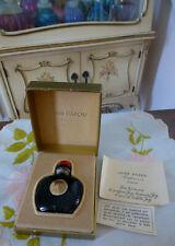 VTG NIPB 1953 CONFIRMED Jean Patou JOY Parfum Perfume Falconette 0.25 Oz 5093