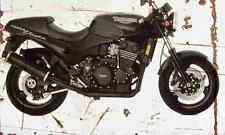 Triumph SpeedTriple 1994 Aged Vintage Photo Print A4 Retro poster