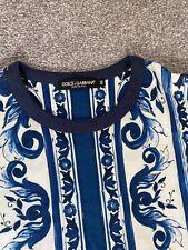 Dolce & Gabbana D&G Print T-shirt size L Authentic