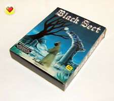 BLACK sect-lankhor 1994 * PC DOS + Amiga * Big Box * Disk Game, Adventure gioco