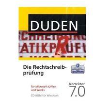 Duden Korrektor 7 - Office Rechtschreibprüfung - Vollversion - Deutsch