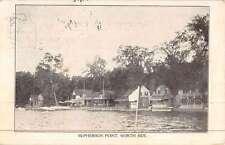 McPherson Point New York Waterfront Antique Postcard K45493