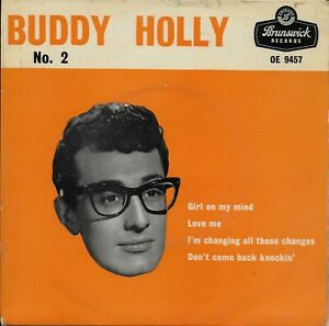 Buddy Holly No 2 - Buddy Holly EP OE 9457