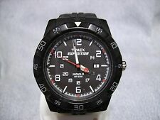 "Men's TIMEX ""Expedition"" Water Resistant Military Watch w/ Indiglo & New Battery"