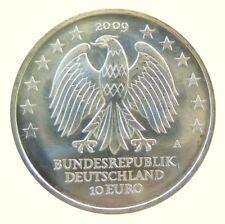 146 - 10 EUROS ALLEMAGNE 2009 - Université de Leipzig - argent