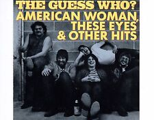 CD THE GUESS WHO American woman, these eyes & ohter hits US 1990 EX