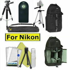 "57"" PRO TRIPOD + BACKPACK BAG +REMOTE FOR NIKON D5000 D5100 D5200 COOLPIX P910"