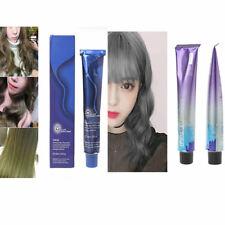 Matte Blonde /Light Silver Grey Color Hair Cream Permanent Super Hair Dye 100ML