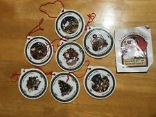 """""""A Christmas Story"""" by Susan Winget Series One lot of 7 ornaments- 1 missing"""