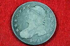 ESTATE FIND 1821 CAPPED BUST HALF DOLLAR!! #C1190