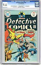 Detective Comics  #447 CGC 9.6  NM+  Off - wht to wht pgs 5/75  Creeper App. Rob