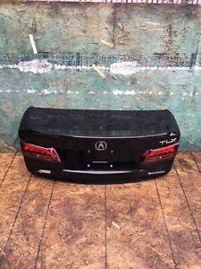ACURA TLX A-SPEC 2015-2020 Sedan Black Trunk Door W/ Inner Taillights OEM