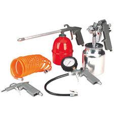 5Pc Air Compressor Kit Spray Gun Tools Compressed Accessories Hose Tool Diy New