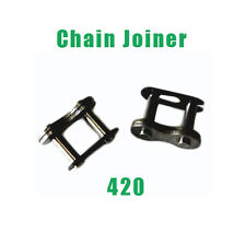 2x Motorcycle 420KMC Chain Master Joiner Link for ATV Quad Scooter