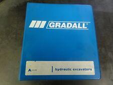 Gradall XL3100III Wheeled Excavator Illustrated Parts Manual