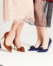 Zapatos de tacón de mujer azules Manolo Blahnik