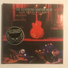 The reverend horton heat live at the fillmore cd 16 titres neuf sous blister