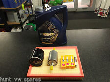 VAUXHALL ZAFIRA MK1 1.6 1.8 SERVICE KIT OIL AIR FUEL  FILTERS SPARK PLUGS