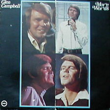 """12"""" Glen Campbell More Words (It`s Over, Gentle On My Mind) Ember Records 70`s"""