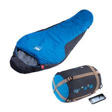 Winter Mummy Sleeping Bag 0 Degree Ultra-light Camping Outdoor +Carry Bag Blue