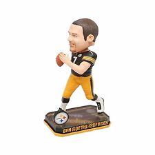 Ben Roethlisberger Pittsburgh Steelers Springy Logo Base Bobblehead NFL
