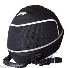 Noir Moto Vélo voiture karting Crash Casque Sac Carrier SHELL boutique Free p&p