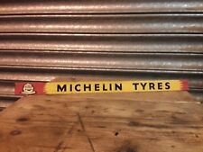 Old Vintage Original Michelin Tin Sign (bicycle,tyres,oil,pump,enamel,globe,can)