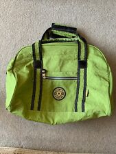 KIPLING GREEN HOLDALL WEEKEND BAG IN GREAT CONDITION RARE STYLE