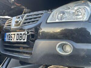 Nissans Qashqai Black Front Bumper Breaking Full Car