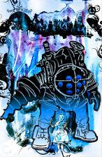 Bioshock Big Daddy Gamer Art 11 x 17 High Quality Poster