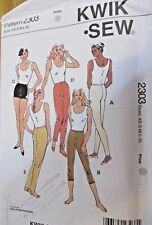 Kwik *Sew Sewing Pattern no. 2303 LADIES LEGGINGS SHORTS SIZE XS,S,M,L,XL