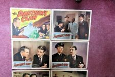 "7 Original lobby cards from the 1942 film ""The Panther's Claw"""
