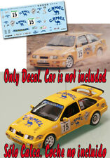 Decal 1:43 Jose Luis Rivero - FORD SIERRA COSWORTH - Rally El Corte Ingles 1991