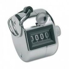 Hand Held Tally for People / Golf Counter / Counting. Tasbeeh BNIB 4 Digit Count