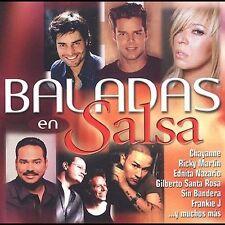 Various Artists : Baladas En Salsa CD