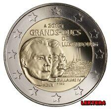 LUXEMBURGO 2 EUROS 2012 - CONM. GRANDES DUQUES