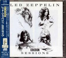 LED ZEPPELIN BBC Sessions JAPAN 1st Press 2 CD 1997 W/Obi