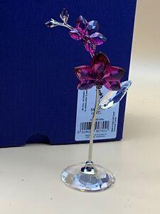 Swarovski Figurine 5490755 Orchid Blumenträume 12,6 Cm. New Product