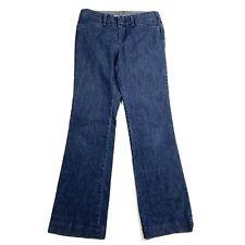 Gap Womens Pants Curvy Fit Stretch Wide Leg Flare Trouser Denim Jeans Sz 1