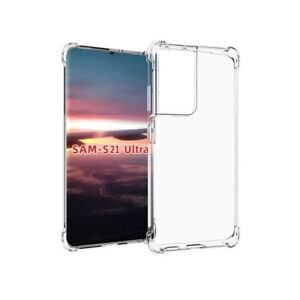 Shockproof Clear Transparent Hard Case Cover For Samsung Galaxy S21 Ultra 5G